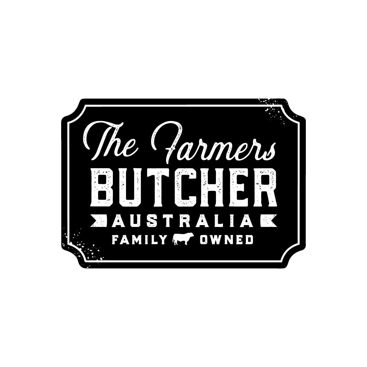 Logo Design The Farmers Butcher