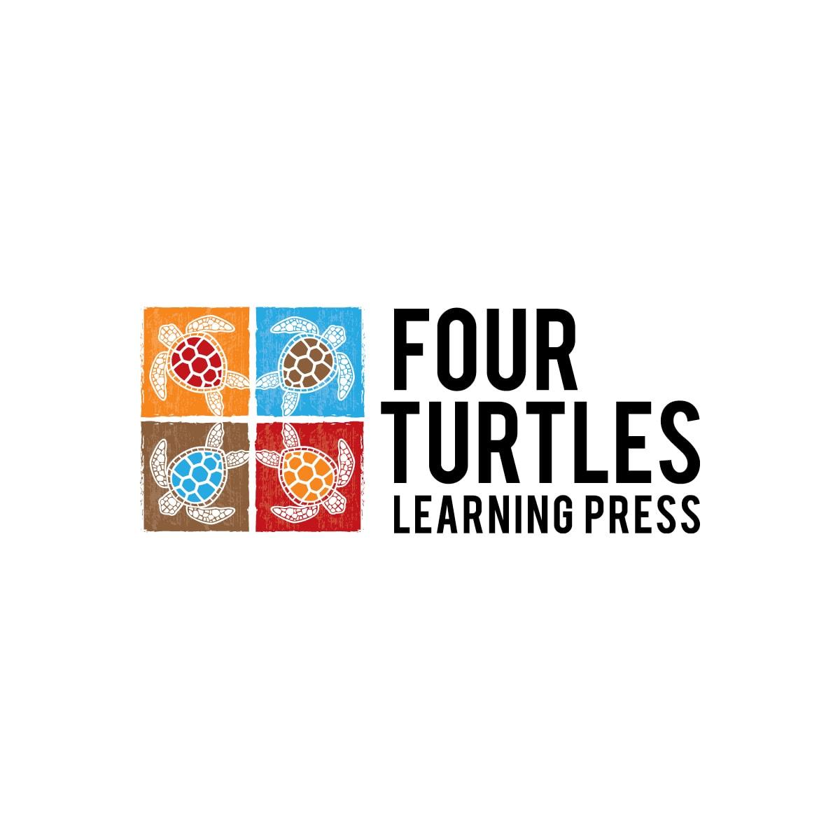 Logo Design Four Turtles Learning Press