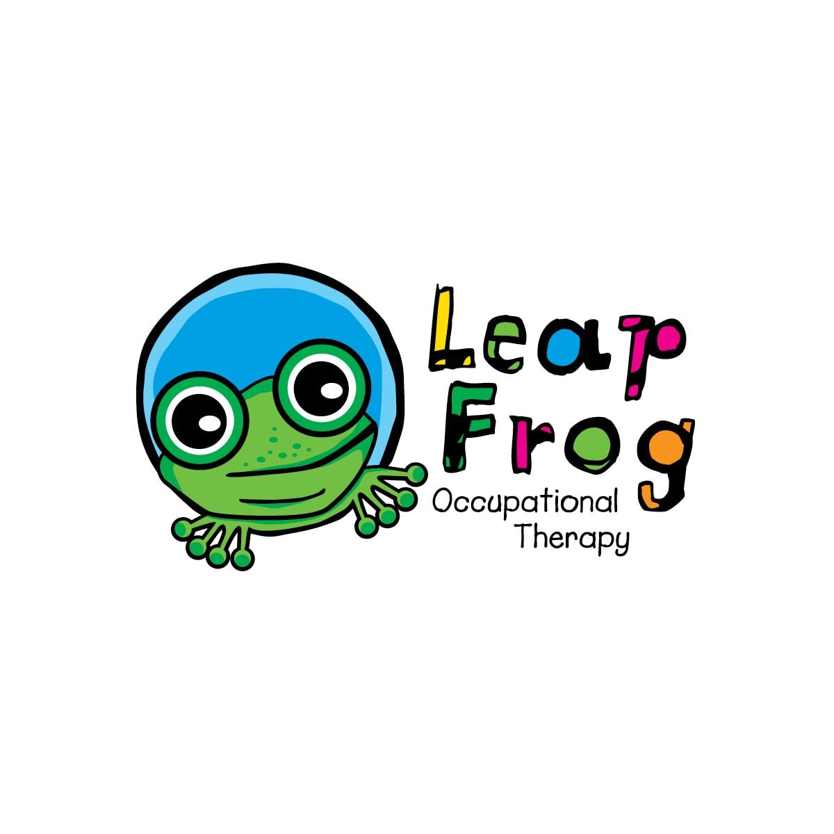 Logo Design Leap Frog OT