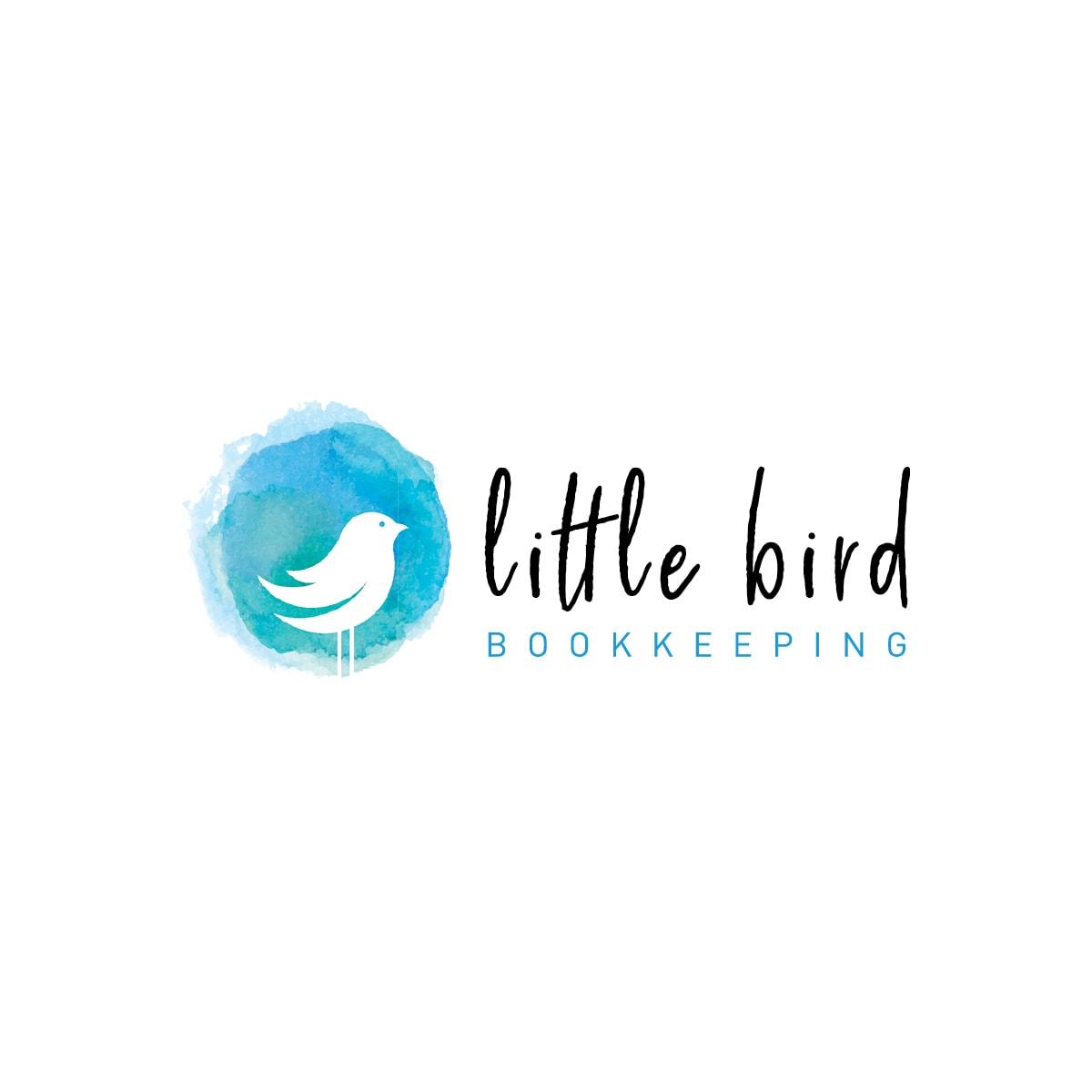 Logo Design Little Bird Bookkeeping