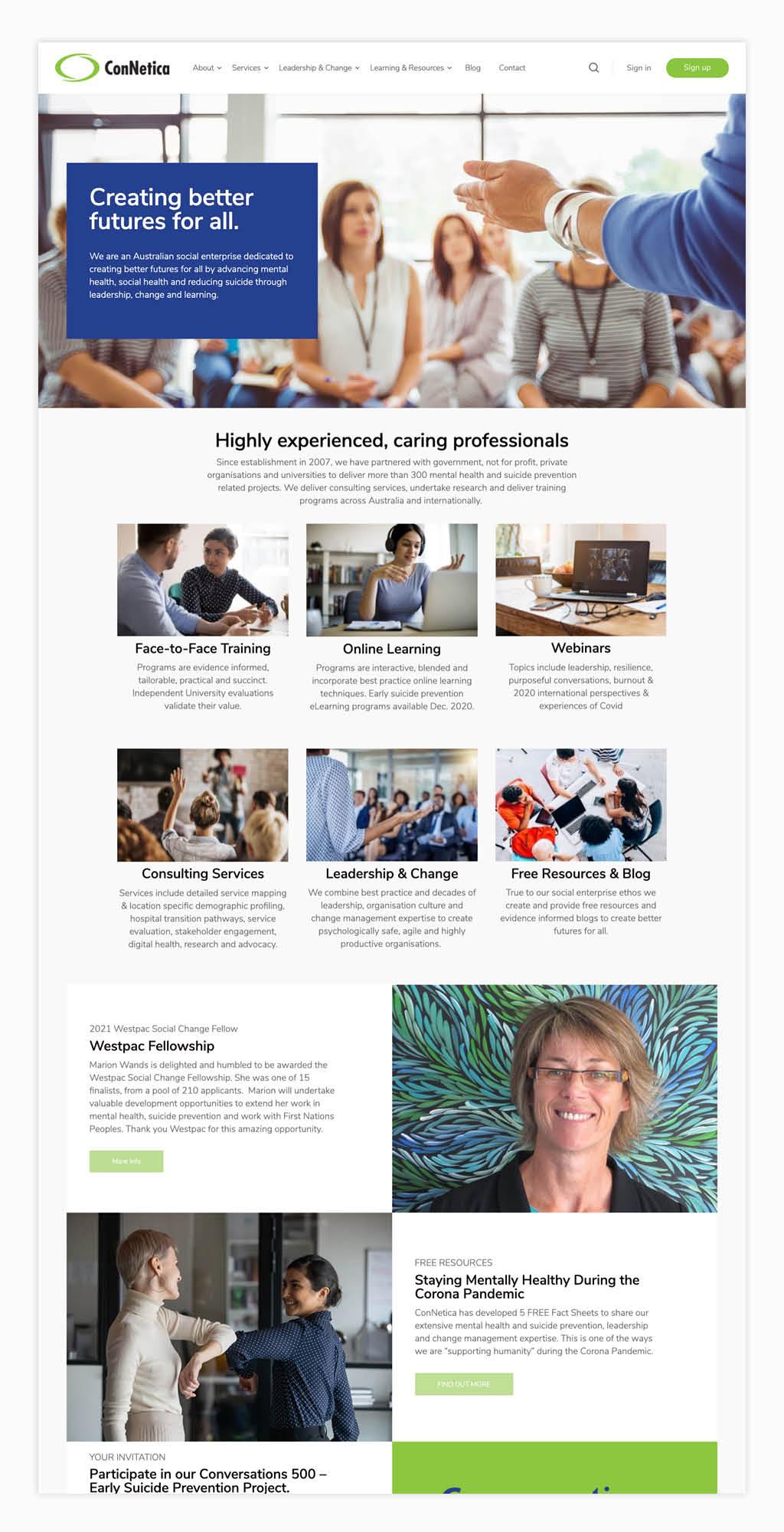ConNetica Website